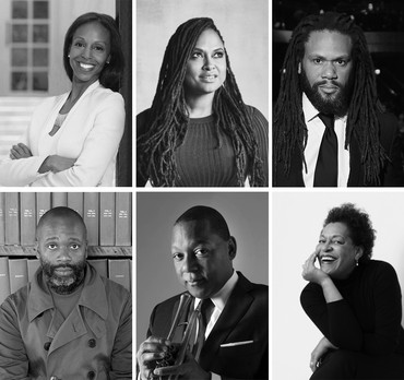 Left to right, top to bottom: Sarah Elizabeth Lewis, Ava DuVernay, Franklin Leonard, Theaster Gates, Wynton Marsalis, Carrie Mae Weems