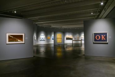 Installation view, Ed Ruscha: OKLA, Oklahoma Contemporary, Oklahoma City, February 18–July 5, 2021. Artwork © Ed Ruscha