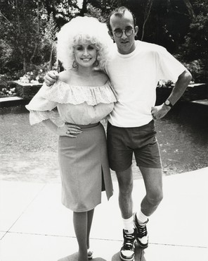 Andy Warhol, Dolly Parton and Keith Haring, 1985 © The Andy Warhol Foundation for the Visual Arts, Inc. Licensed by Artists Rights Society (ARS), New York