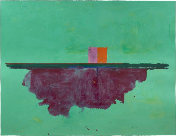 Helen Frankenthaler, Cassis, 1995, collection Helen Frankenthaler Foundation, New York © 2021 Helen Frankenthaler Foundation, Inc./Artists Rights Society (ARS), New York