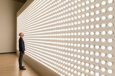 Carsten Höller, Light Wall, 2000/17 © Carsten Höller. Photo: Attilio Maranzano