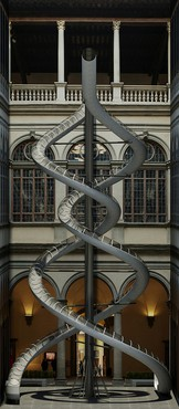 Carsten Höller, rendering of The Florence Experiment Slides, 2018