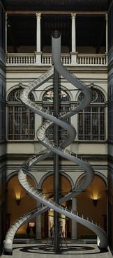 Carsten Höller, rendering of The Florence Experiment Slides, 2018
