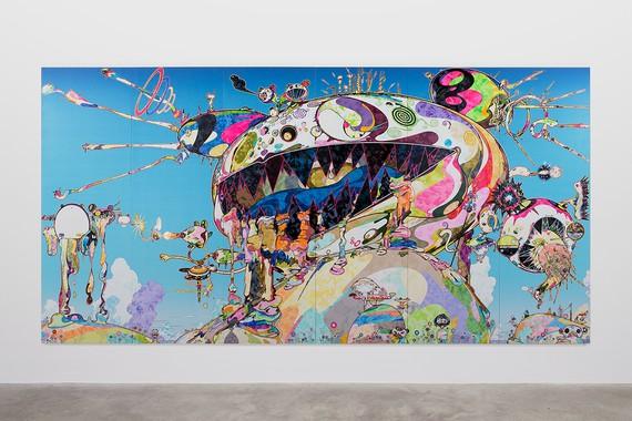 Takashi Murakami, a.k.a Gero Tan: Noah's Ark, 2016 © 2018 Takashi Murakami/Kaikai Kiki Co., Ltd. All rights reserved
