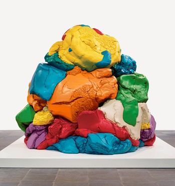 Jeff Koons, Play-Doh, 1994–2014 © Jeff Koons