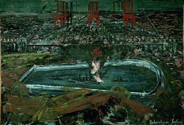 Anselm Kiefer at the Royal Academy of Art