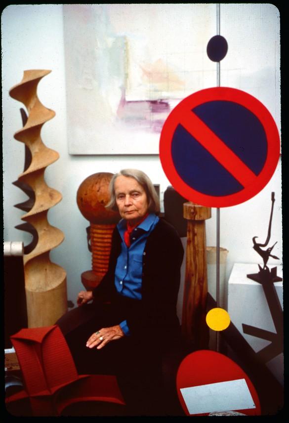 Betty Parsons, 1979. Photo: © Lisl Steiner