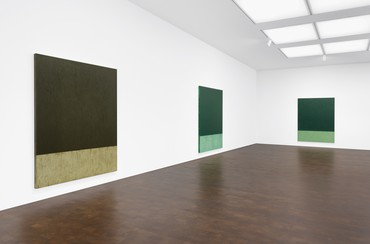 Brice Marden, Gary Hume, and Tim Marlow