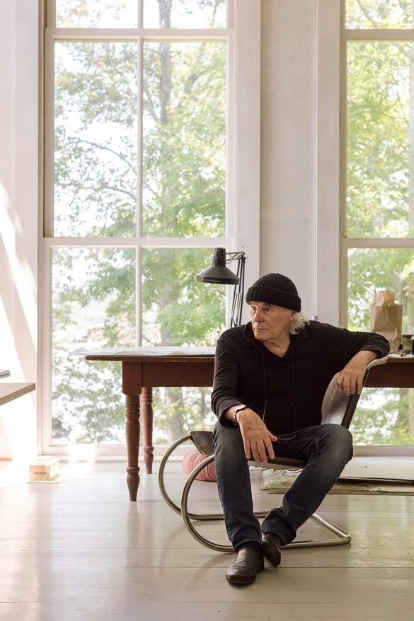 Brice Marden at his studio