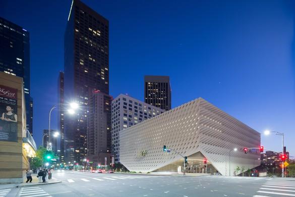 Exterior view, the Broad, Los Angeles. Photo: Iwan Baan