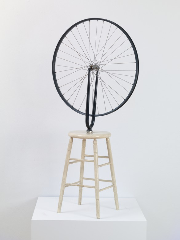 """Marcel Duchamp, Bicycle Wheel, 1913–64 (""""Ex Arturo,"""" one of two artist's proofs). Photo by Rob McKeever"""