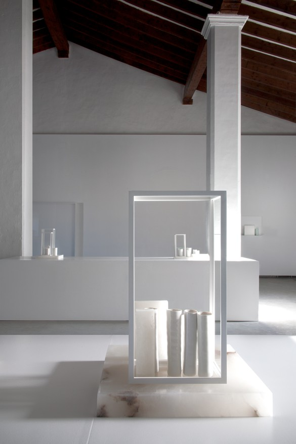 Installation view, Edmund de Waal: White Island, Museu d'Art Contemporani d'Eivissa, Ibiza, Spain, June 8–September 23, 2018