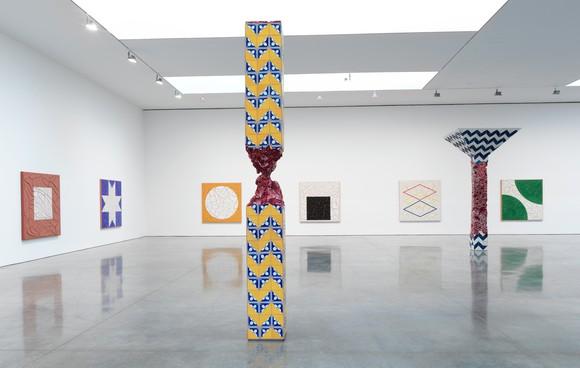 Installation view, Adriana Varejão: Talavera, Gagosian, West 21st Street, New York, May 3–June 26, 2021. Artwork © Adriana Varejão. Photo: Rob McKeever