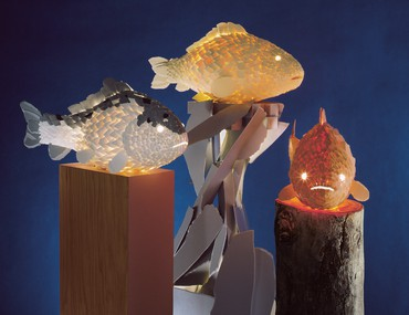 Frank Gehry: Fish Lamps
