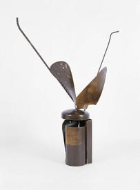 Helen Frankenthaler, Heart of London Map, steel sculpture