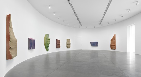Installation view, Piero Golia: Intermission Paintings, Gagosian, Rome, June 9–September 10, 2015. Photo: Matthew D'Eletto