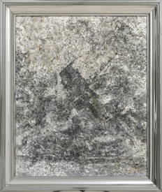 Richard Artschwager, Arizona, 2002, acrylic on fiber panel, in metal artist's frame