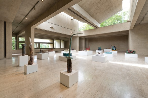 Installation view, Sterling Ruby: Ceramics, Des Moines Art Center, Iowa, June 9–September 9, 2018. Photo: Rich Sanders