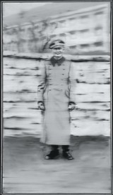Gerhard Richter, Uncle Rudi, 1965, oil on canvas, 34 ¼ × 19 ¾ inches (87 × 50 cm), CR: 85