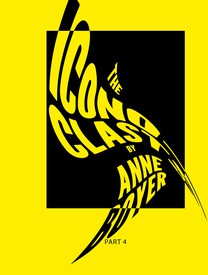 Yellow and black graphic title page