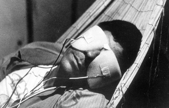 Still from La Jetée (1962), directed by Chris Marker. Photo: Moviestore Collection Ltd/Alamy Stock Photo