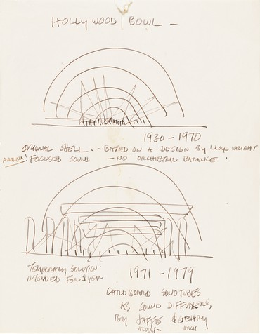 Frank Gehry Drawings