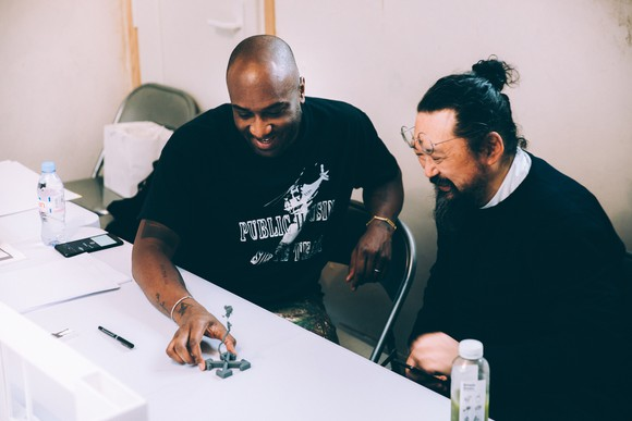Future History: Takashi Murakami and Virgil Abloh
