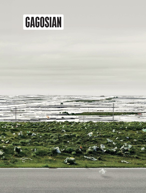 Detail from Andreas Gursky's El Ejido(2017) on the cover of Gagosian Quarterly, Summer 2018