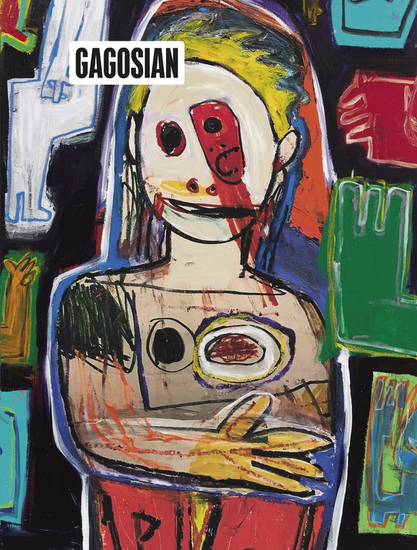 Detail from Richard Prince's Untitled (2017) on the cover of Gagosian Quarterly, Winter 2018