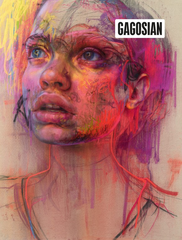 Jenny Saville's Prism (2020) on the cover of Gagosian Quarterly, Winter 2020