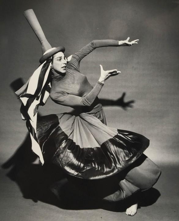 Anna Halprin in The Prophetess, 1955. Photo: Tamalpa Institute