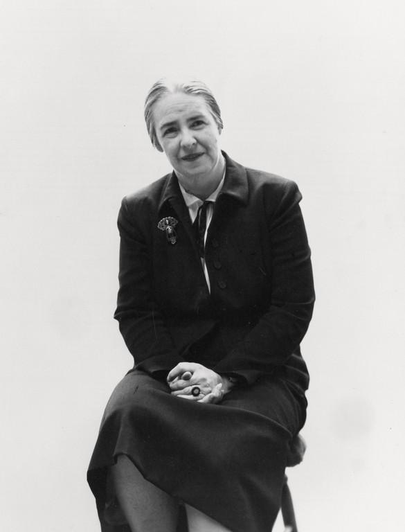 Grace McCann Morley, c.1950s. Photo: courtesy SFMOMA Archives