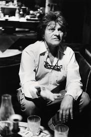 Gregory Corso, New York, 1986. Photo: Allen Ginsberg