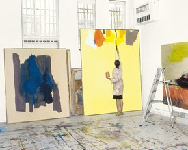 Helen Frankenthaler: Line into Color, Color into line