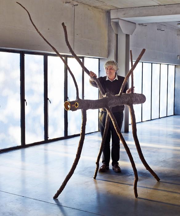 Giuseppe Penone with Spazio di luce(Space of Light), 2008