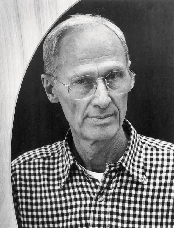Richard Artschwager, New York, 1991. Photo: Chris Felver/Getty Images