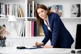 Anne-Eva Geffroy in her office, Graff, London
