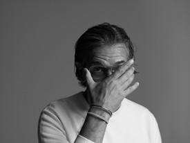 Sergio Zambon black-and-white portrait