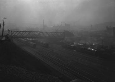 Mary Weatherford: Train Yards