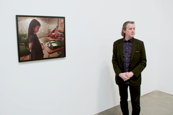 Installation view of Jeff Wall exhibition at Gagosian, New York