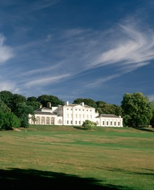 View of the south front of Kenwood House.