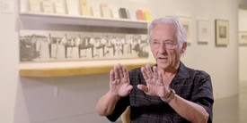 The artist Ed Ruscha discussing his work.