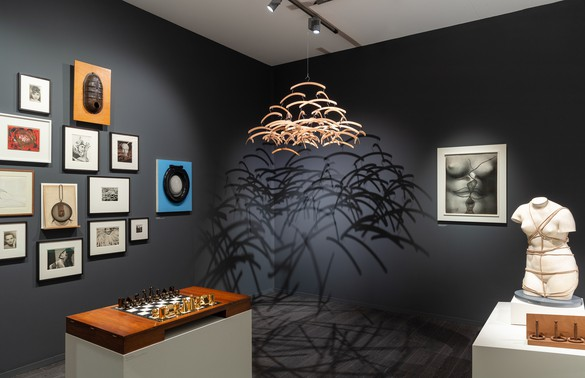 Installation view, Man Ray, Gagosian stand at Frieze Masters, London, 2018
