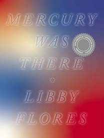 Cover page with title and author against soft red, white, and blue colors