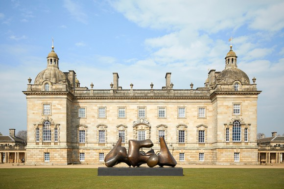 Installation view of the exhibition Henry Moore at Houghton Hall: Nature and Inspiration.