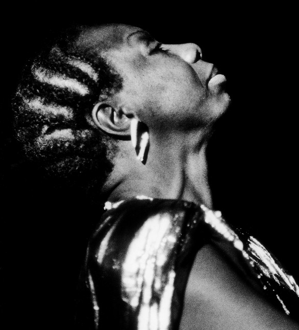 Nina Simone at the Boston Globe Jazz Festival, Symphony Hall, Boston, March 20, 1986. Photo: John Blanding/Boston Globe via Getty Images
