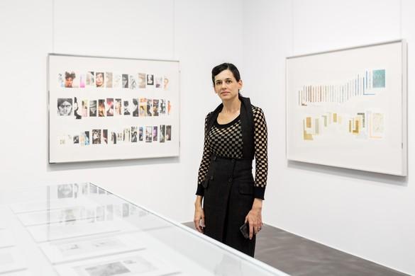 Taryn Simon at the Albertinum Museum, Dresden, 2016. Photo by David Pinzer
