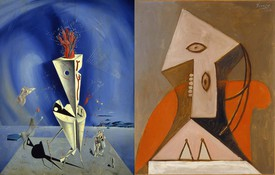 Picasso and Dalí