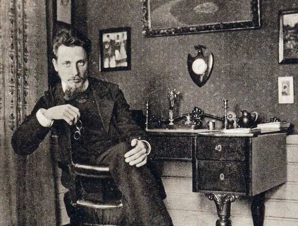 Rainer Maria Rilke, 1928. Photo: Lou Andreas-Salomé