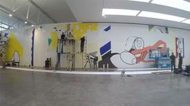 Time-lapse: Greene Street Mural